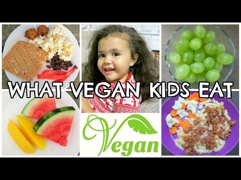 WHAT A 3 YEAR OLD VEGAN KID EATS IN A DAY | FUSSY EATER ed.