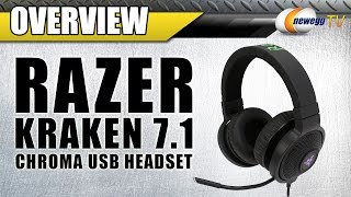 Razer KRAKEN CHROMA Gaming Headset Overview - Newegg TV