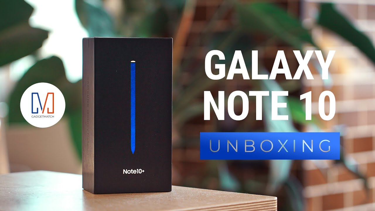 Samsung Galaxy Note 10+ Unboxing