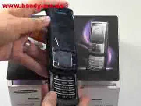 Samsung SGH U900 Soul Erster Eindruck