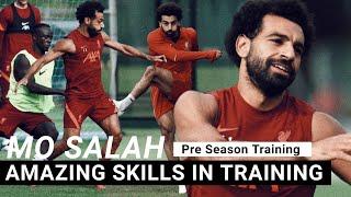 Mohamed Salah trains hard before Liverpool vs Hertha Berlin pre-season game   Liverpool Team News screenshot 4