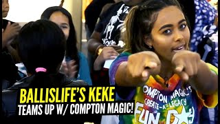 Day In The Life w/ The Compton Magic!! We TEAM UP & Surprise 100's Of Kids!!
