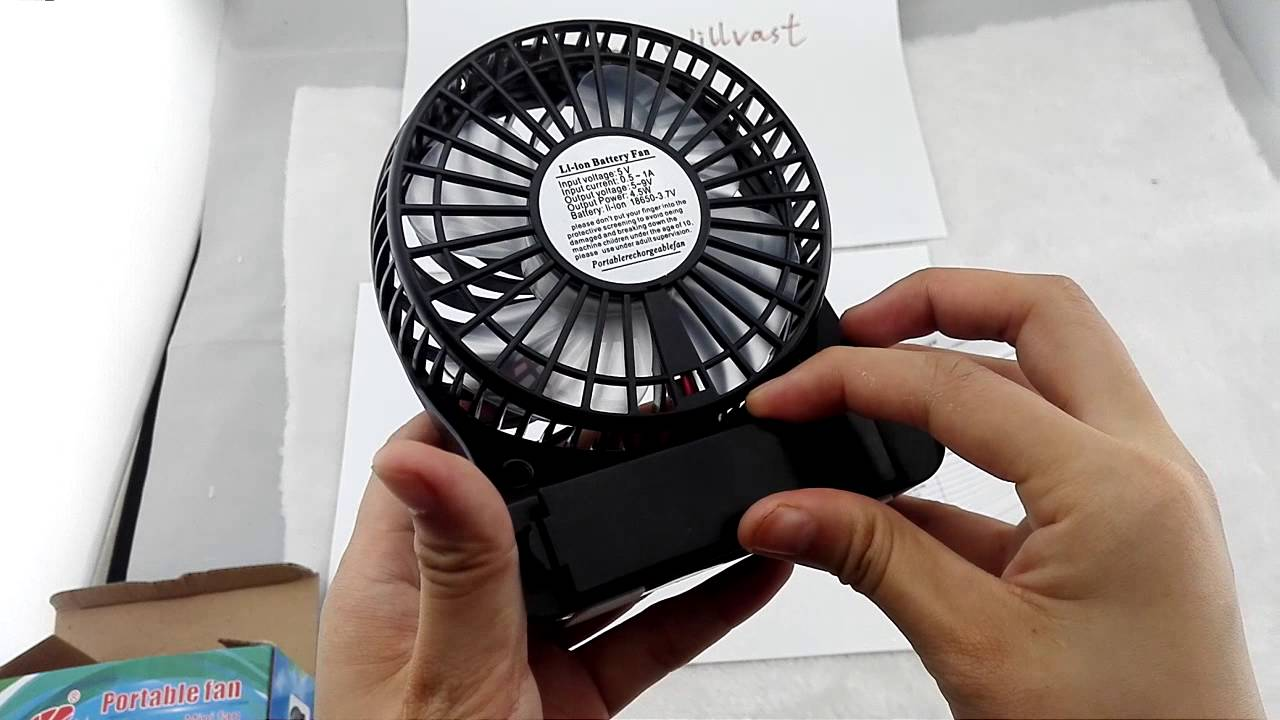 Portable Mini Fan Youtube