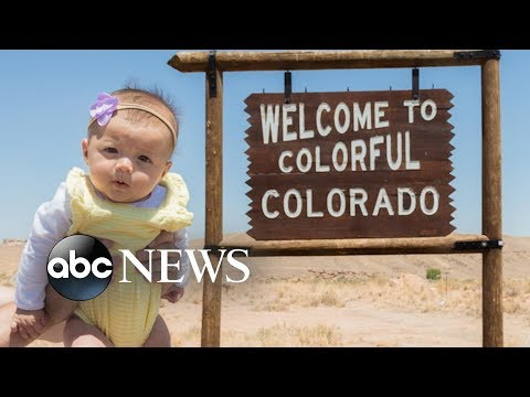 None - Baby visits all 50 states before she's 6 months old!