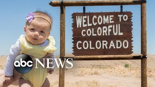 Baby about to hit all 50 states on U.S. road trip