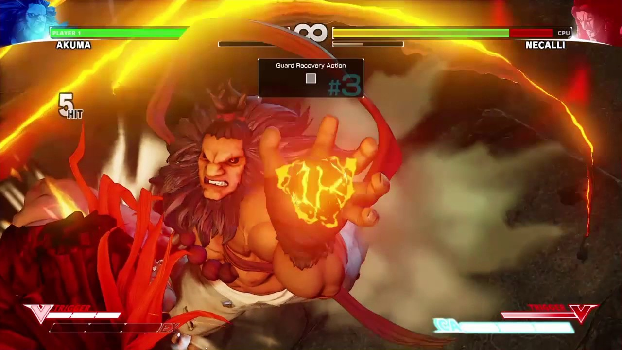 Instant Raging Demons And Grounded Crossups Street Fighter V