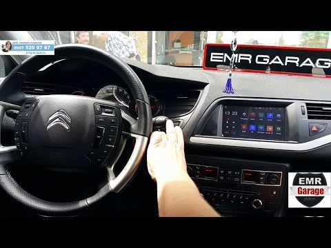 Citroen C5 android multimedya navigasyon cihazı inceleme - EMR Garage