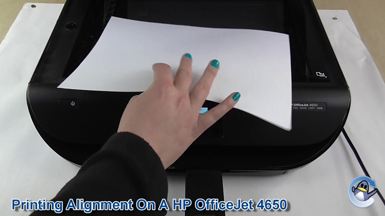 how to clean print head on hp 4650
