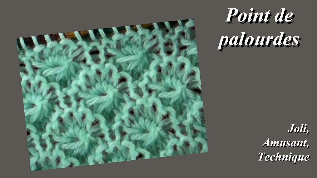 Tuto tricot point de palourdes youtube - Point de cote tricot ...