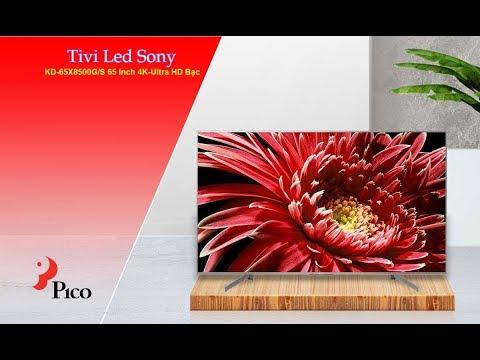 Tivi Led Sony KD-65X8500G/S 65 Inch 4K-Ultra HD Bạc- Pico.vn