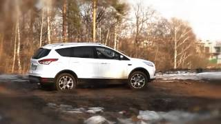 Ford Kuga 2.0 дизель ТЕСТ ДРАЙВ(тест драйв ФОРД КУГА 2.0 дизель., 2013-12-11T17:20:09.000Z)