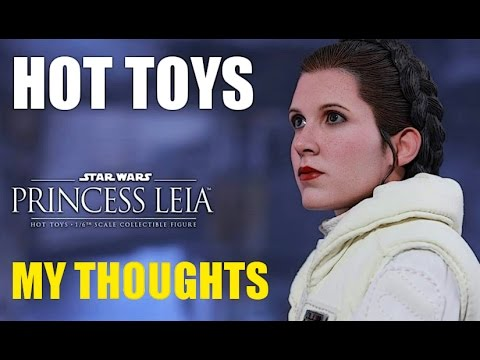 osw.zone for the upcoming Hot toys Princess Leia 1/6 scale figure from the Star Wars fil...