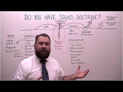 Do You Have Sound Doctrine?