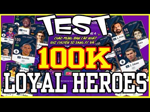 FO4 | TEST 100K CHUYỂN SÒ SANG FC NHẬN THẺ LH | ROSTER UPDATE | FIFA ONLINE 4
