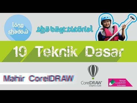 Video Tutorial Coreldraw cara membuat Siluet Digital dengan cepat dan mudah dengan Coreldraw, dijela.