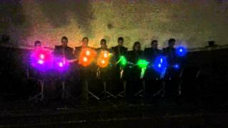 Lite Stix slagwerk van muziekvereniging Dockyard