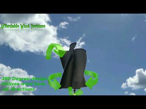 Affordable Wind Turbines How It Works Wind Turbines Homes