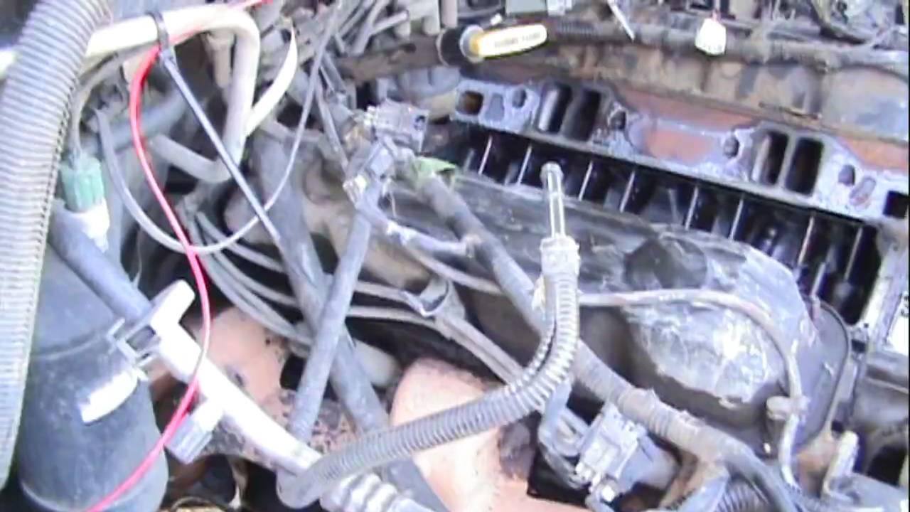 1999 Dodge ram plenum repair  YouTube