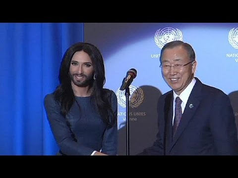 Eurovision's Conchita Wurst and UN call for end to LGBT discrimination