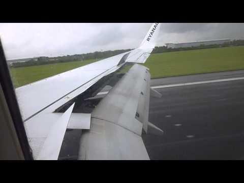 Marina aterrizando en Dublin