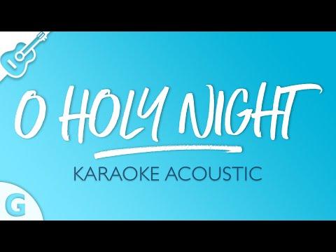 O Holy Night (Karaoke Acoustic Guitar | Key Of G)