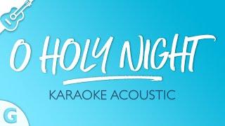O Holy Night (Karaoke Acoustic Guitar   Key of G)