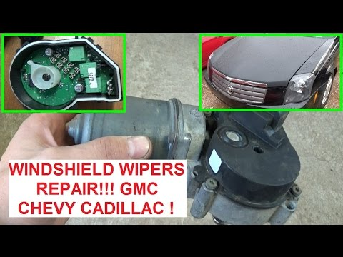 Windshield Wipers not wroking or Cannot TURN OFF Cadillac CTS DTS