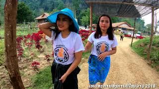Vientiane Capital of Laos and Vangvieng inter park with laos New year Dji drone mavic pro 14/04/2018