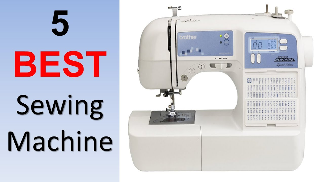 top brand sewing machine