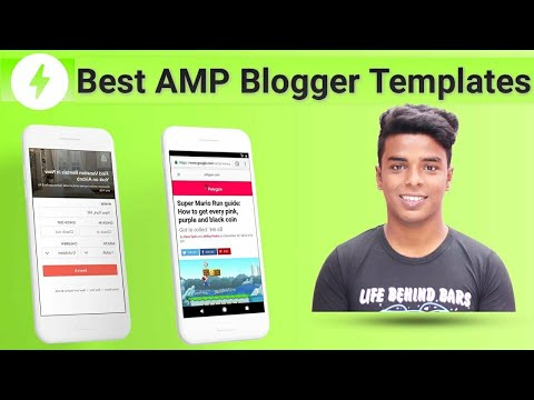 Best AMP Templates For Blogger Blog