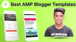Best AMP Templates For Blogger Blog