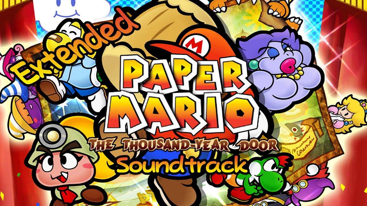 paper mario the thousand year door music download