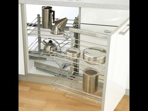 Esquinero m gico de cocina youtube for Muebles de esquina para cocina