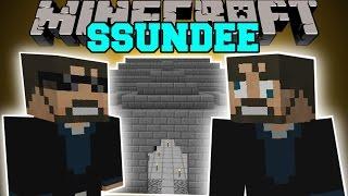 Minecraft: SSUNDEE MOD (DERP SSUNDEE, JAILBREAK, & MR CRAINER) Mod Showcase