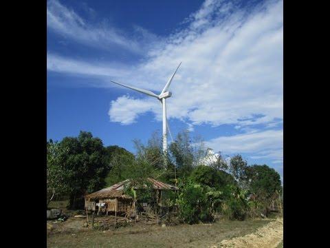 San Lorenzo ~ Guimaras Island motorcycle adventure ~ Beach Resort & Wind Farm  Video 3