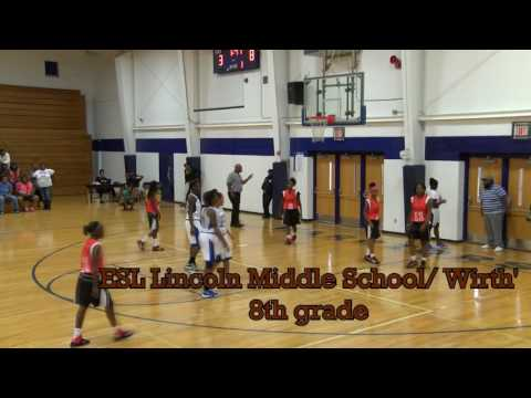 East St Louis Lincoln Middle School Girls 8th grade Basketball 10/11/2016