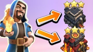 This 1 Attack Strategy Can 3 Star TH9 & TH10 in Clash of Clans