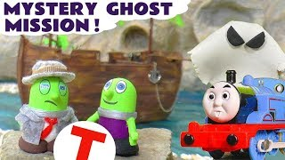 Funny Funlings Detective Funling Mission to Guess The Mystery Ghost with Thomas The Train TT4U