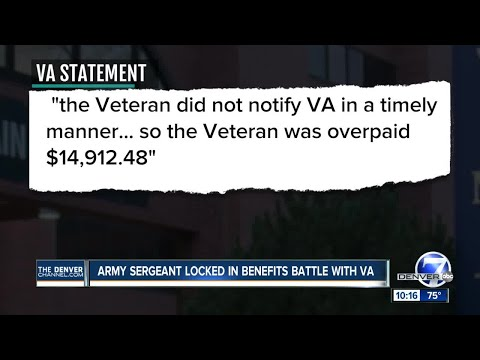 Colorado veteran now being billed $14,000 by VA for 'overpayment'