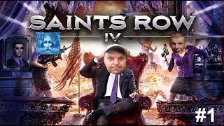 Saint's Row 4 #1 - Dwóch prezydentów zimbabwe castlevania