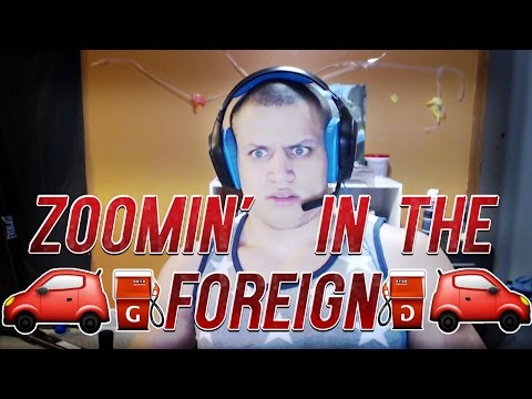 🚗 ⛽️ ZOOMING IN THE FOREIGN  🚗 ⛽️ [TYLER1]