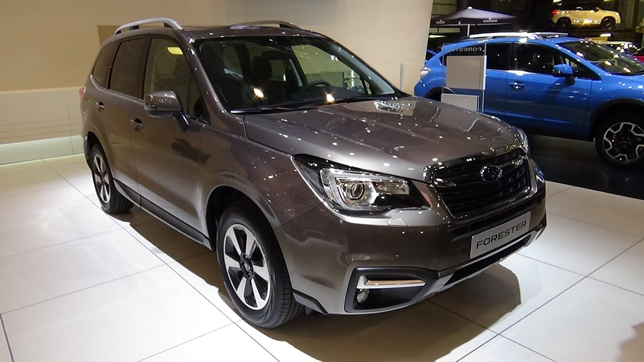 2016 Subaru Forester Exterior And Interior Auto Show Brussels You