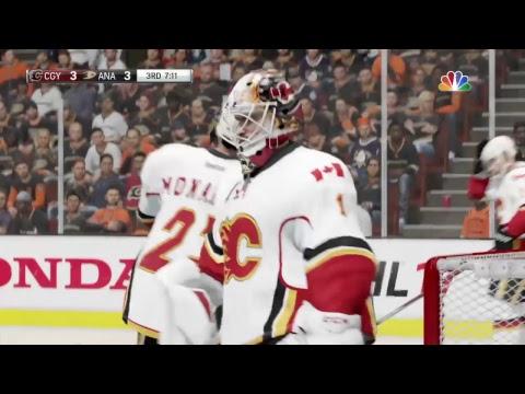 2017 NHL PLAYOFFS  CGY @ ANA GM2 CGY LEADS 1-0