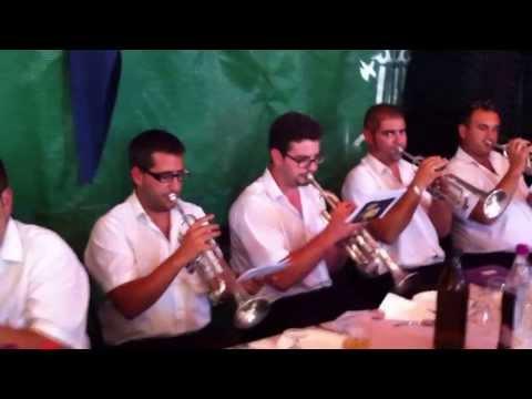 la Union Musical de Agost interpretando el pasodoble Puenteareas
