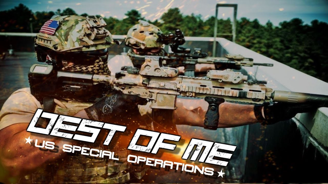 """U.S. Special Operations - """"Best Of Me"""" CINEMATIC"""