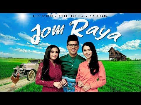Free Download Official Music Video Jom Raya Aliff Syukri Feat. Bella Astillah & Zizi Kirana - Tv Terlajak Laris Mp3 dan Mp4