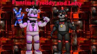 Fnaf Plush SE 1 EP 22 Funtime Freddy meets Lefty