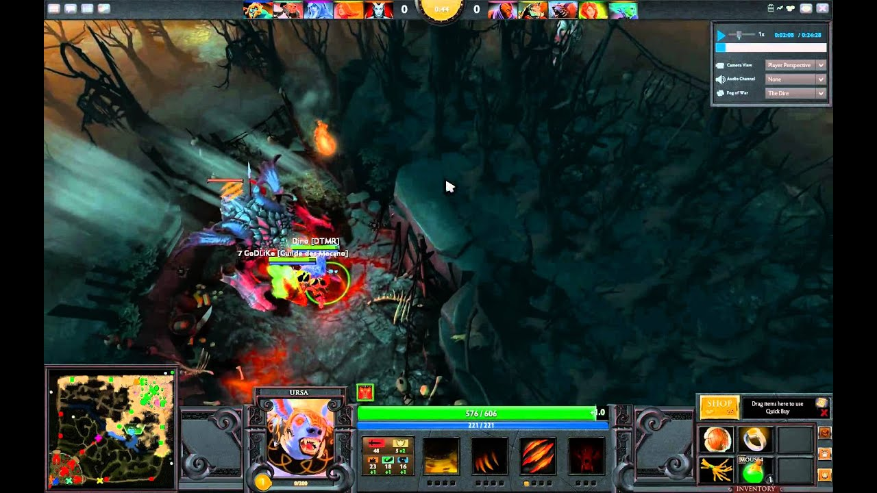 dota 2 killing roshan at level 1 with 2 heroes youtube