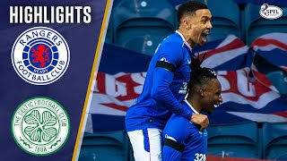 Rangers 1-0 Celtic | Red Card Drama as Rangers Move 19 Points Clear! | Scottish Premiership