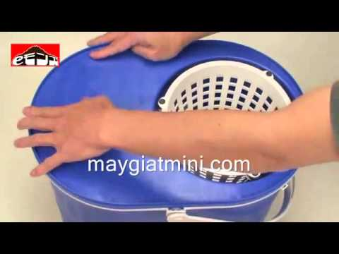 Hướng dẫn sử dụng máy giặt mini